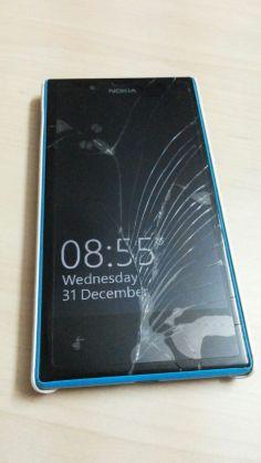 windows phone cracked screen
