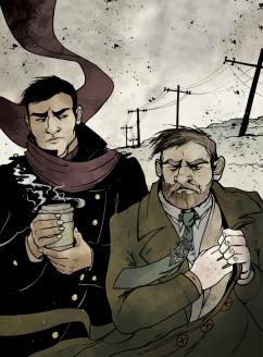 American Gods - Shadow & Mr.Wednesday