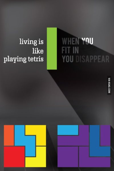 playing Tetris